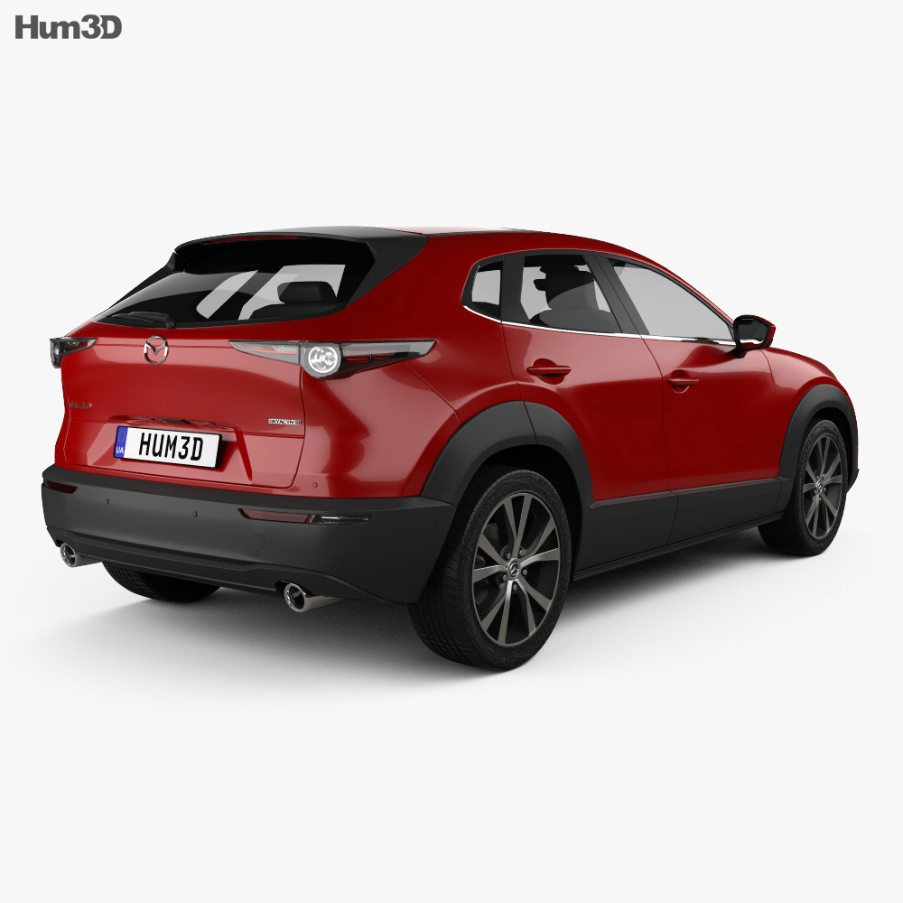 Mazda Cx 30 2020 3d Model Vehicles On Hum3d