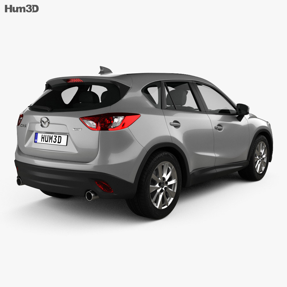 Mazda CX-5 US-spec 2012 3d model
