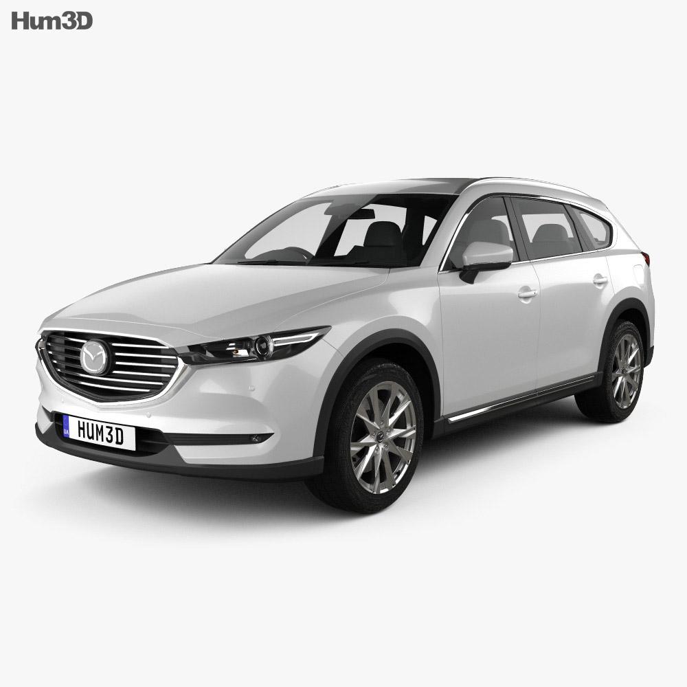 Mazda CX-8 2017 3d model