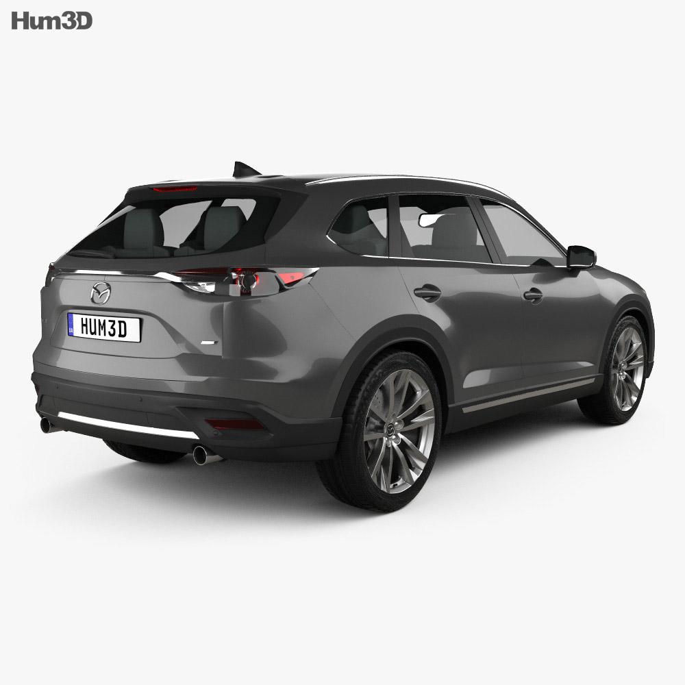 Mazda CX-9 2016 3d model