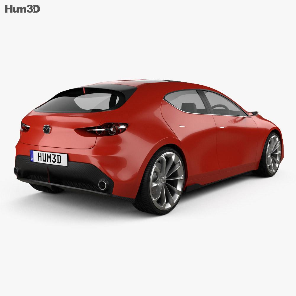 Mazda Kai 2017 3D Model