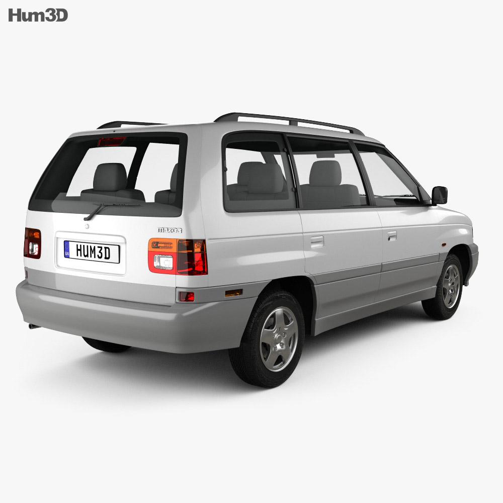 Mazda MPV (LV) 1997 3d model