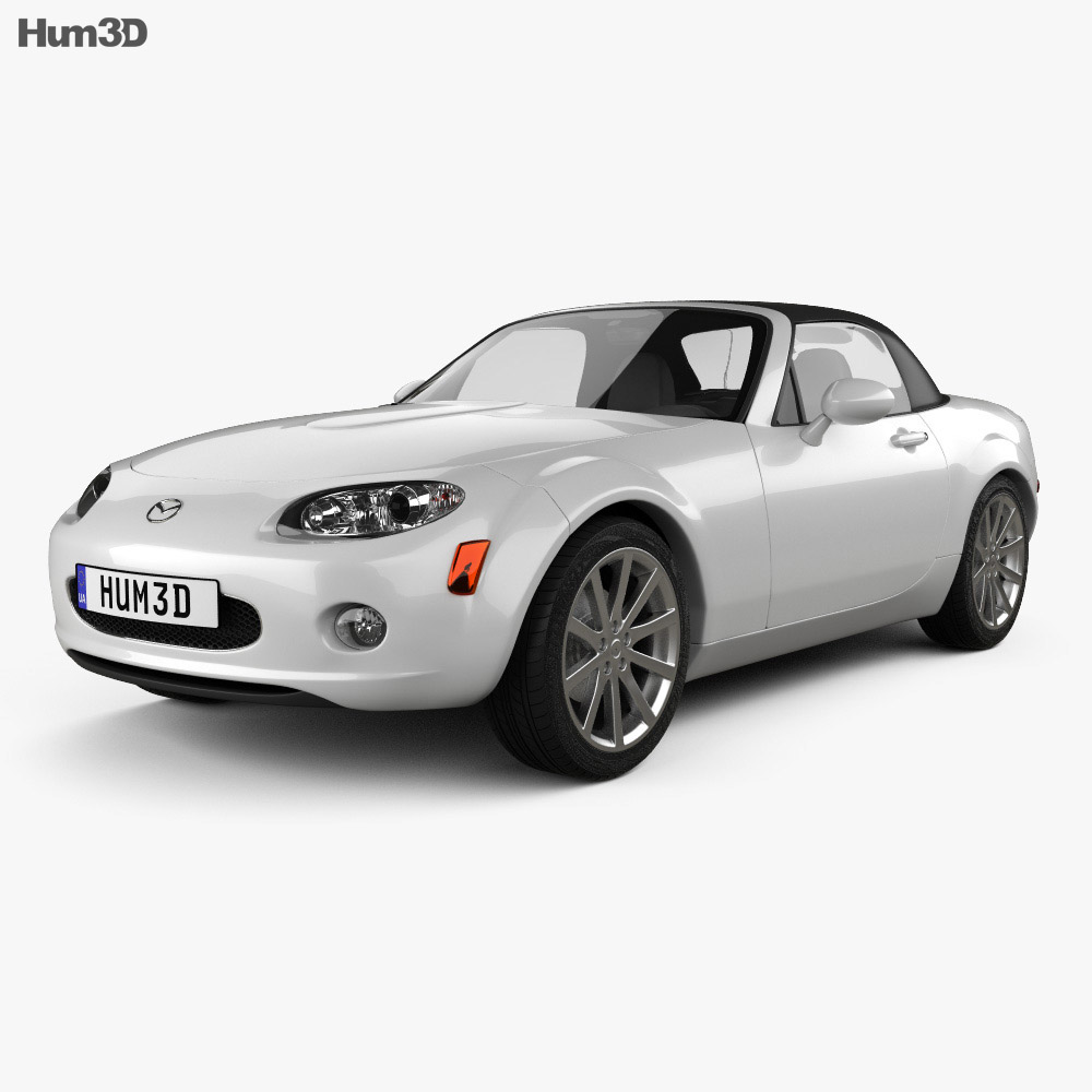 mazda mx 5 miata 2009 3d model vehicles on hum3d. Black Bedroom Furniture Sets. Home Design Ideas