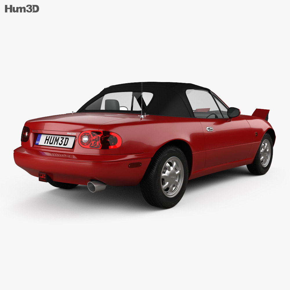 Mazda MX-5 1989 3d model