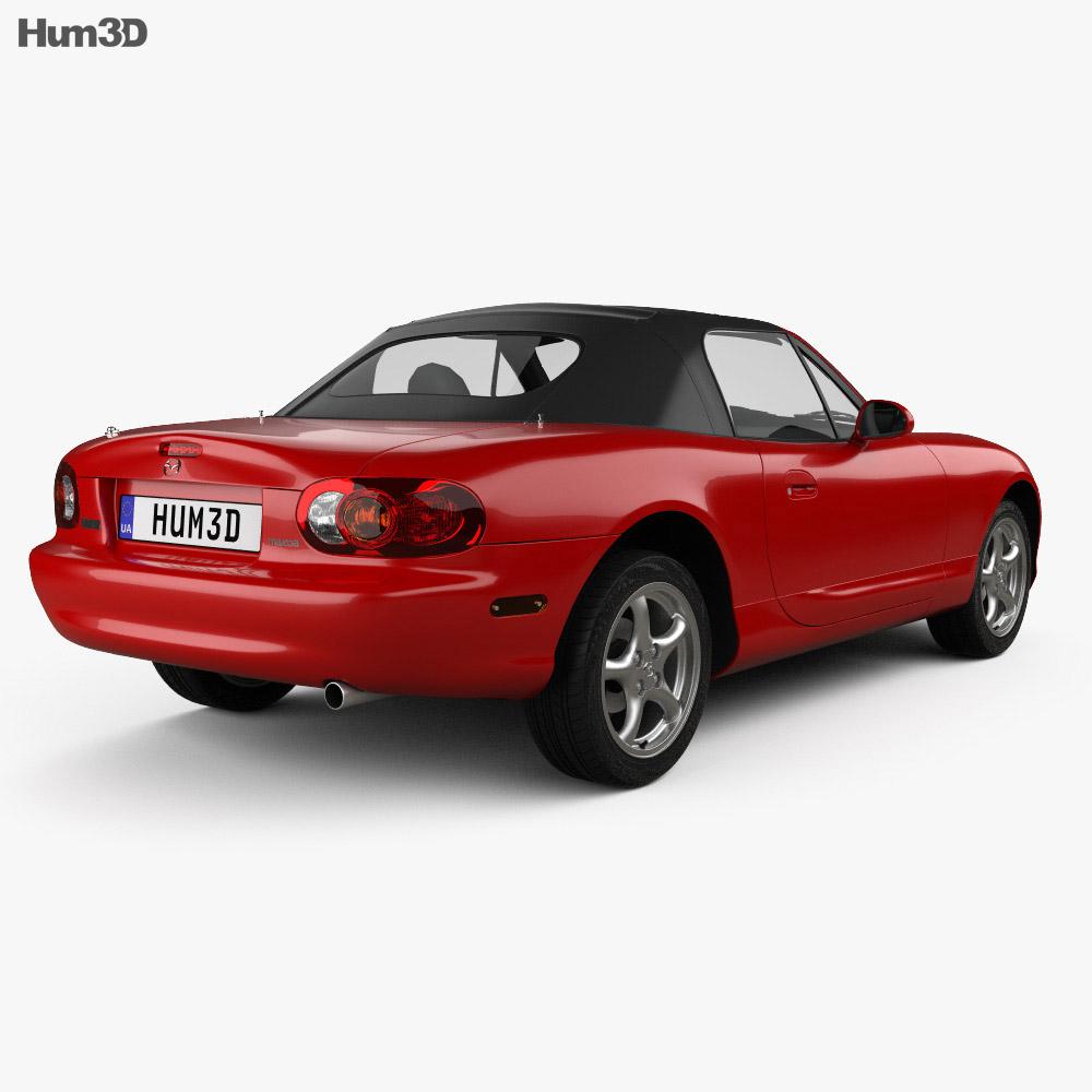 Mazda MX-5 1998 3d model