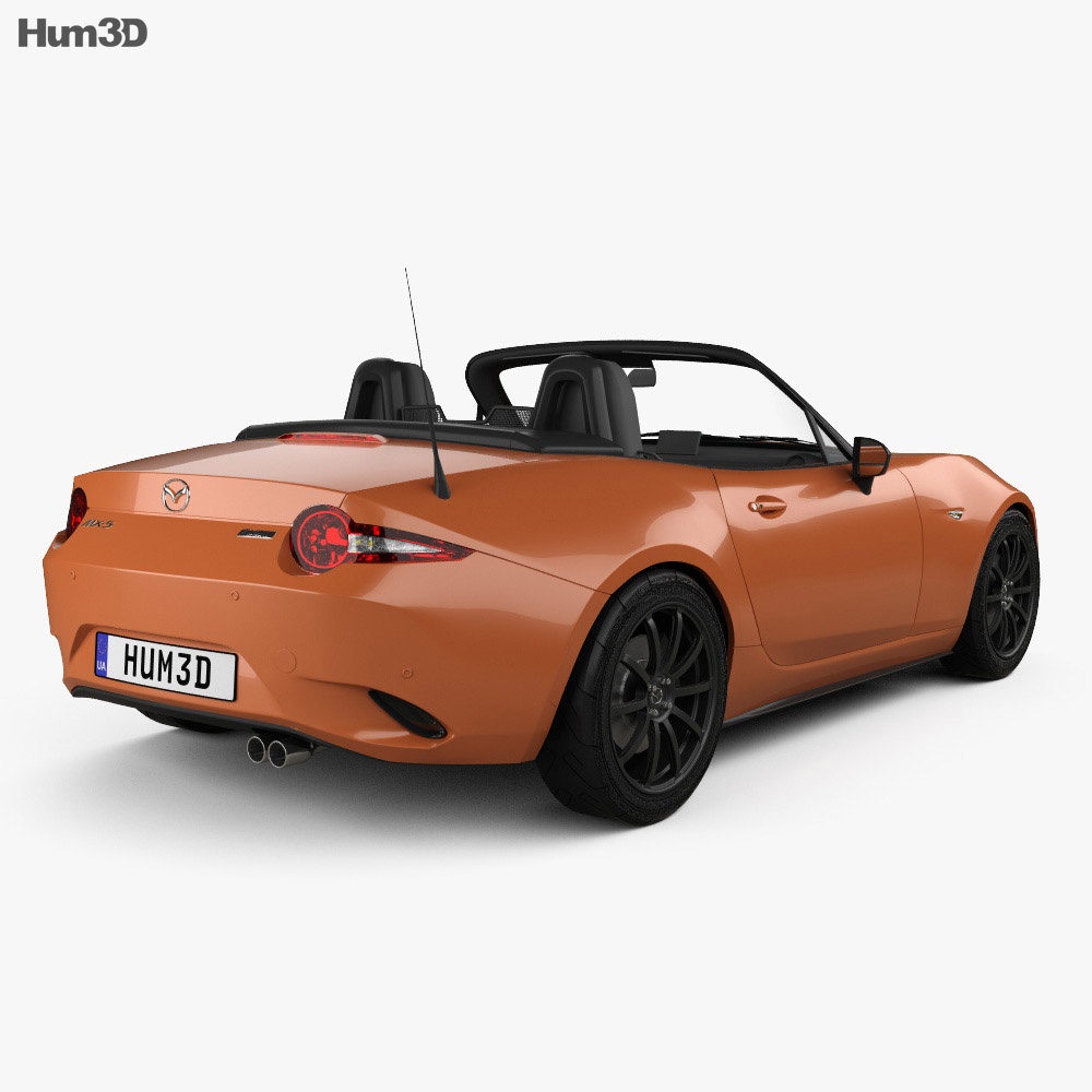 Mazda MX-5 30th Anniversary convertible 2019 3d model