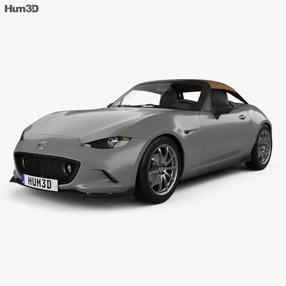 mazda mx 5 speedster 2015 3d model humster3d. Black Bedroom Furniture Sets. Home Design Ideas
