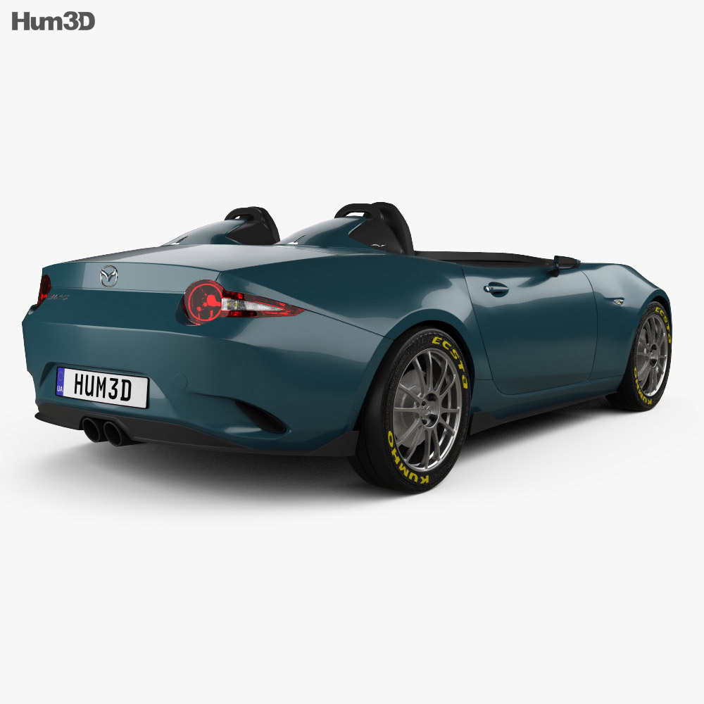 mazda mx 5 spyder 2015 3d model humster3d. Black Bedroom Furniture Sets. Home Design Ideas