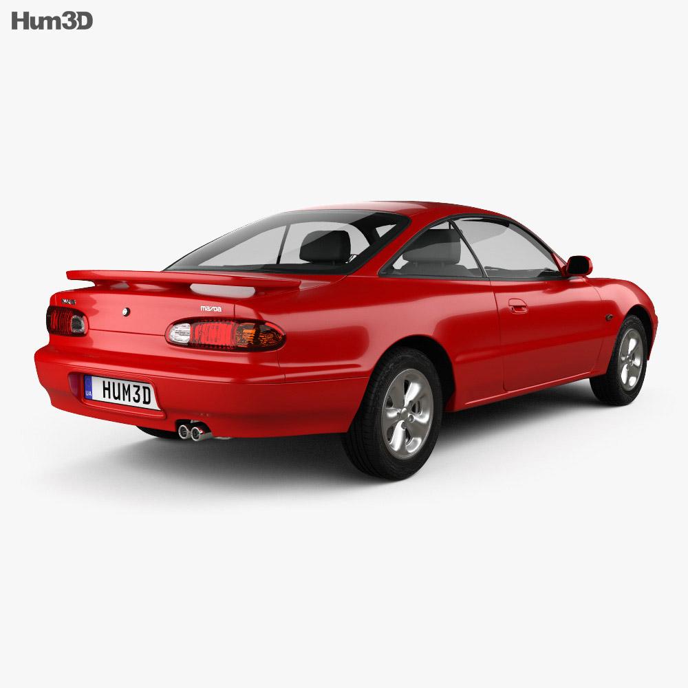 Mazda MX-6 1992 3d model