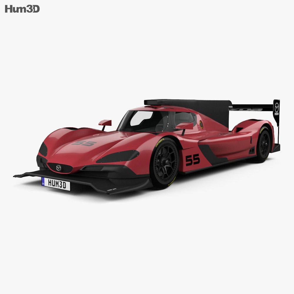 mazda rt24 p racecar 2017 3d model hum3d. Black Bedroom Furniture Sets. Home Design Ideas