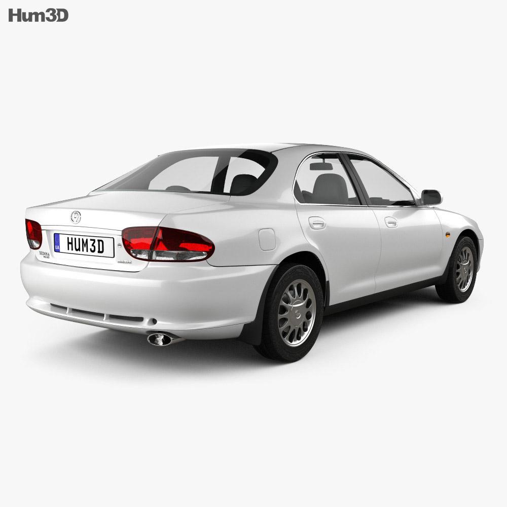 Mazda Xedos 6 (Eunos 500) 1992 3d model