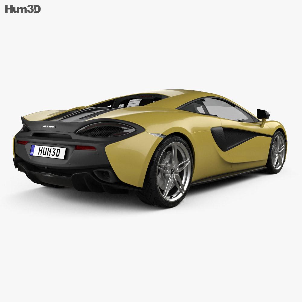 McLaren 570S 2016 3d model