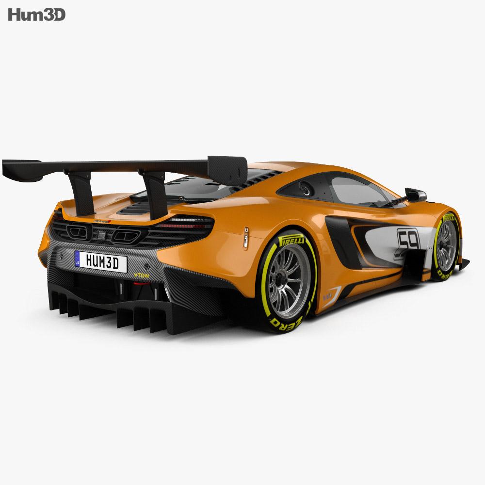 McLaren 650S GT3 2015 3d model