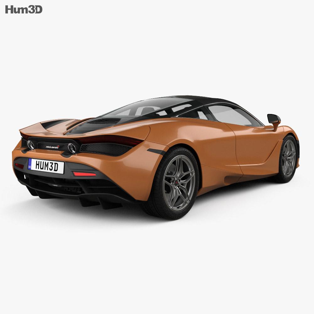McLaren 720S 2017 3d model
