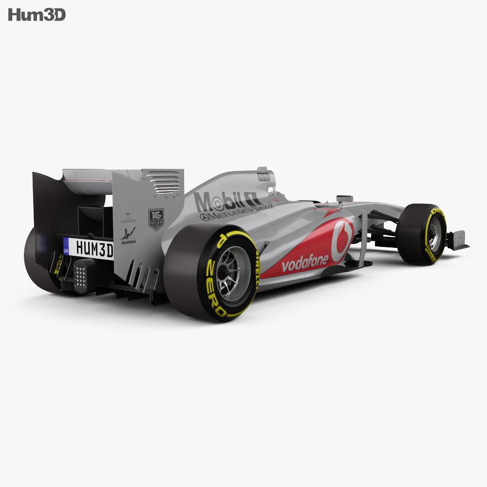 McLaren MP4-28 2013 3d model