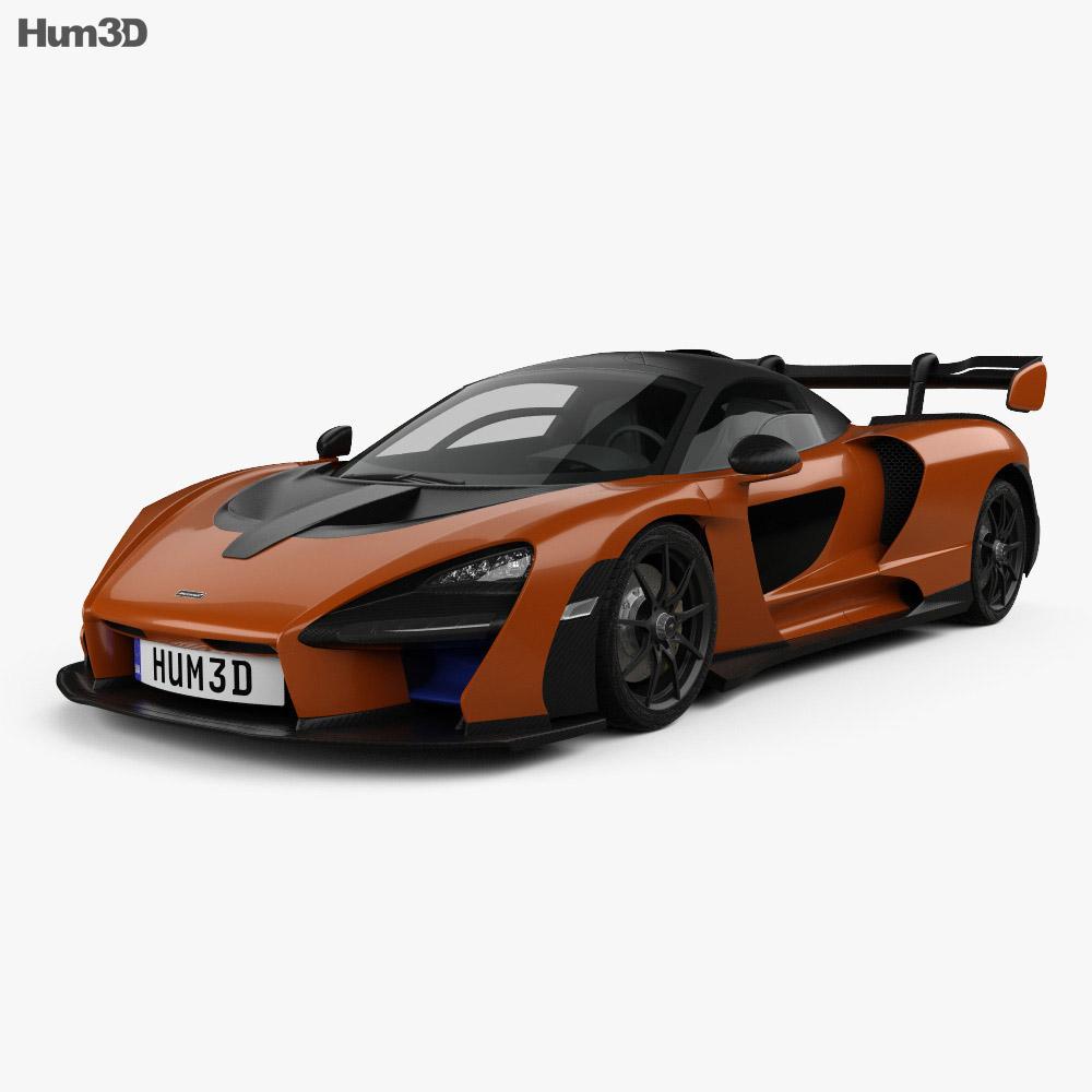 Mclaren Senna 2019 3d Model Hum3d