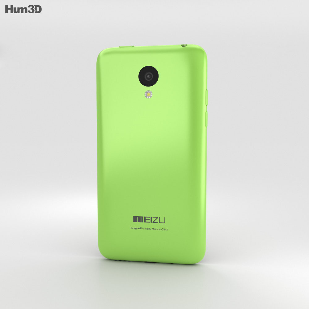 Meizu M1 Green 3d model