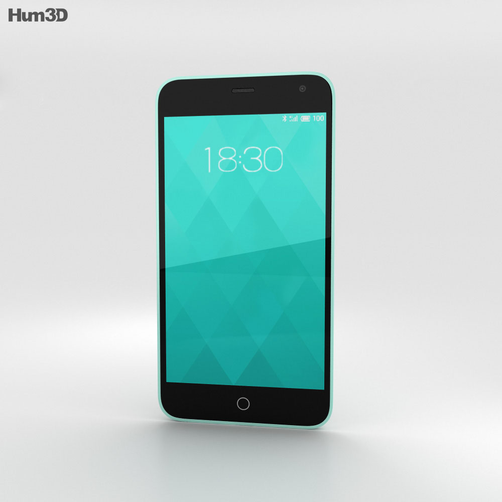 Meizu M1 Mint 3d model