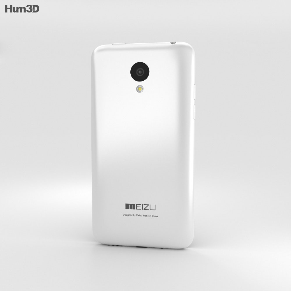 Meizu M1 White 3d model