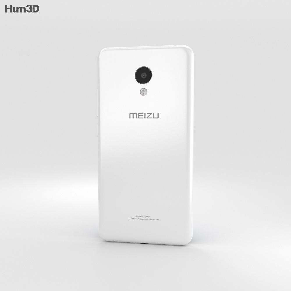 Meizu M3 White 3d model