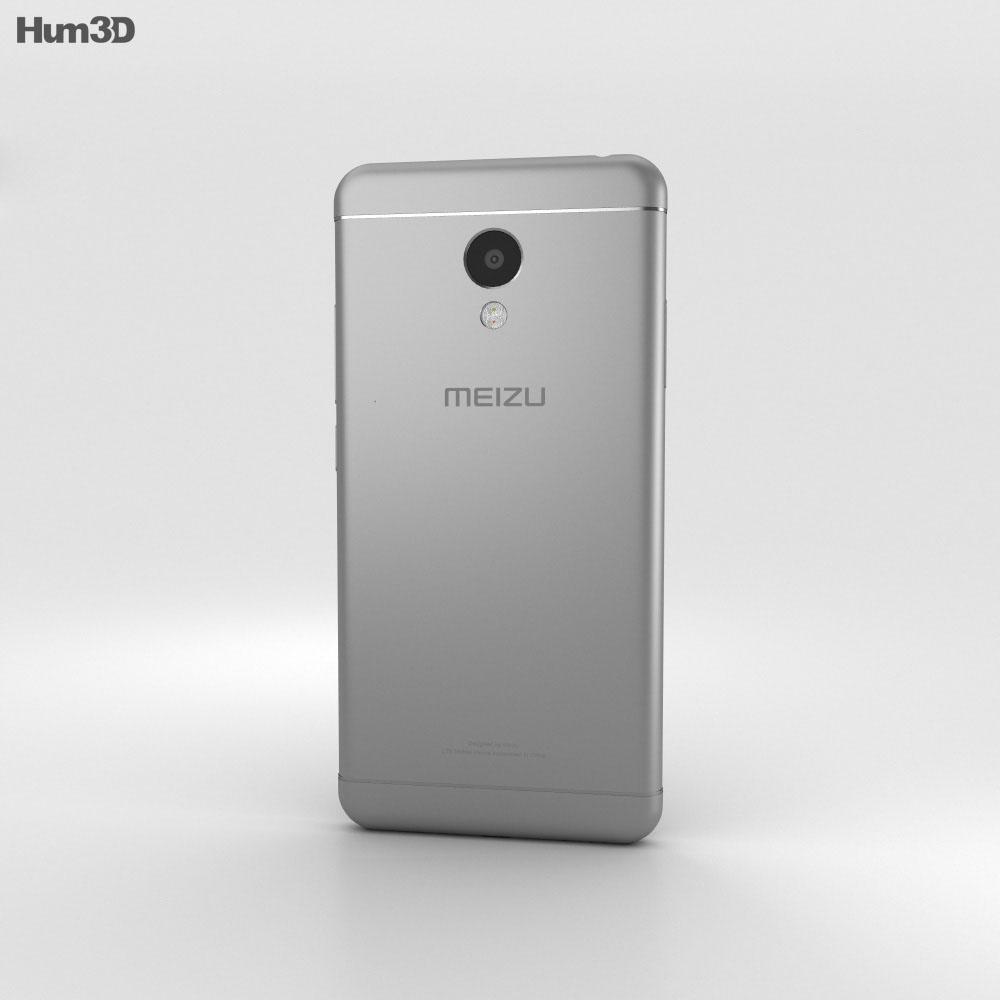 Meizu M3s Gray 3d model