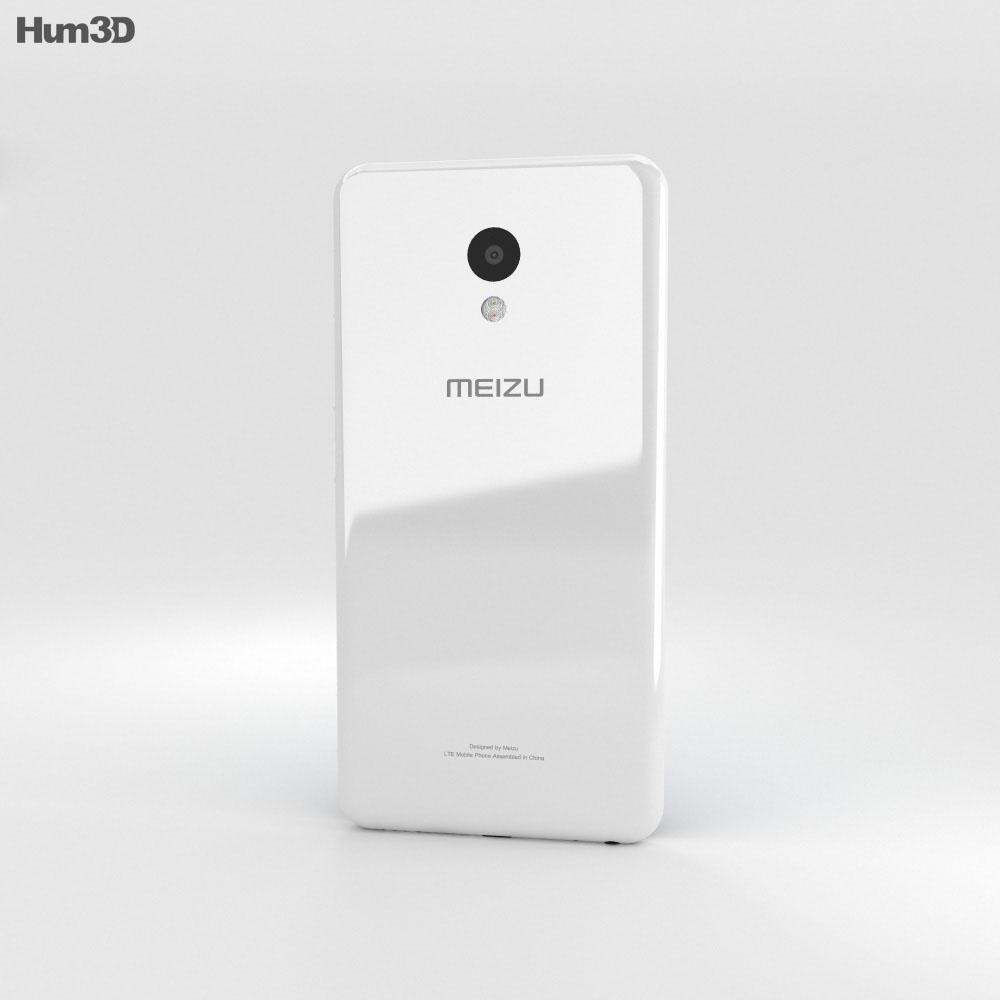 Meizu M5 Glacier White 3d model