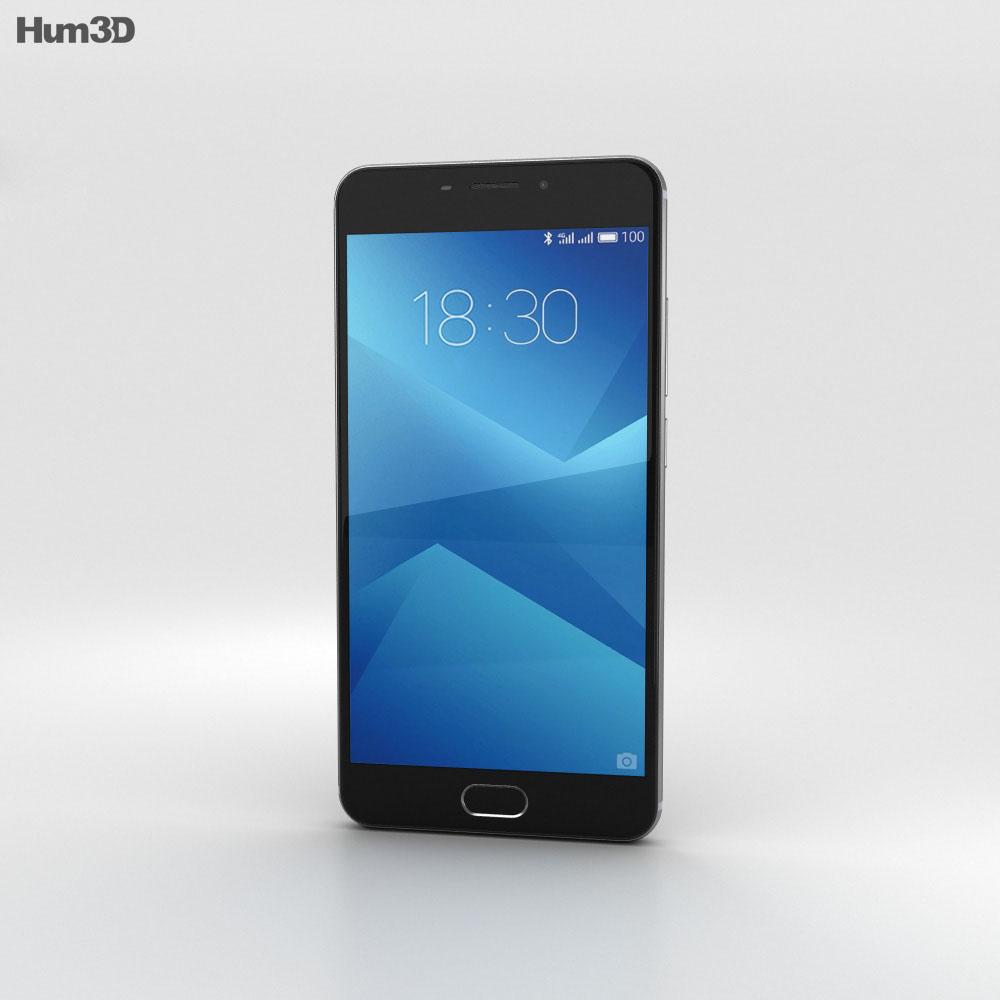 Meizu M5 Note Gray 3d model