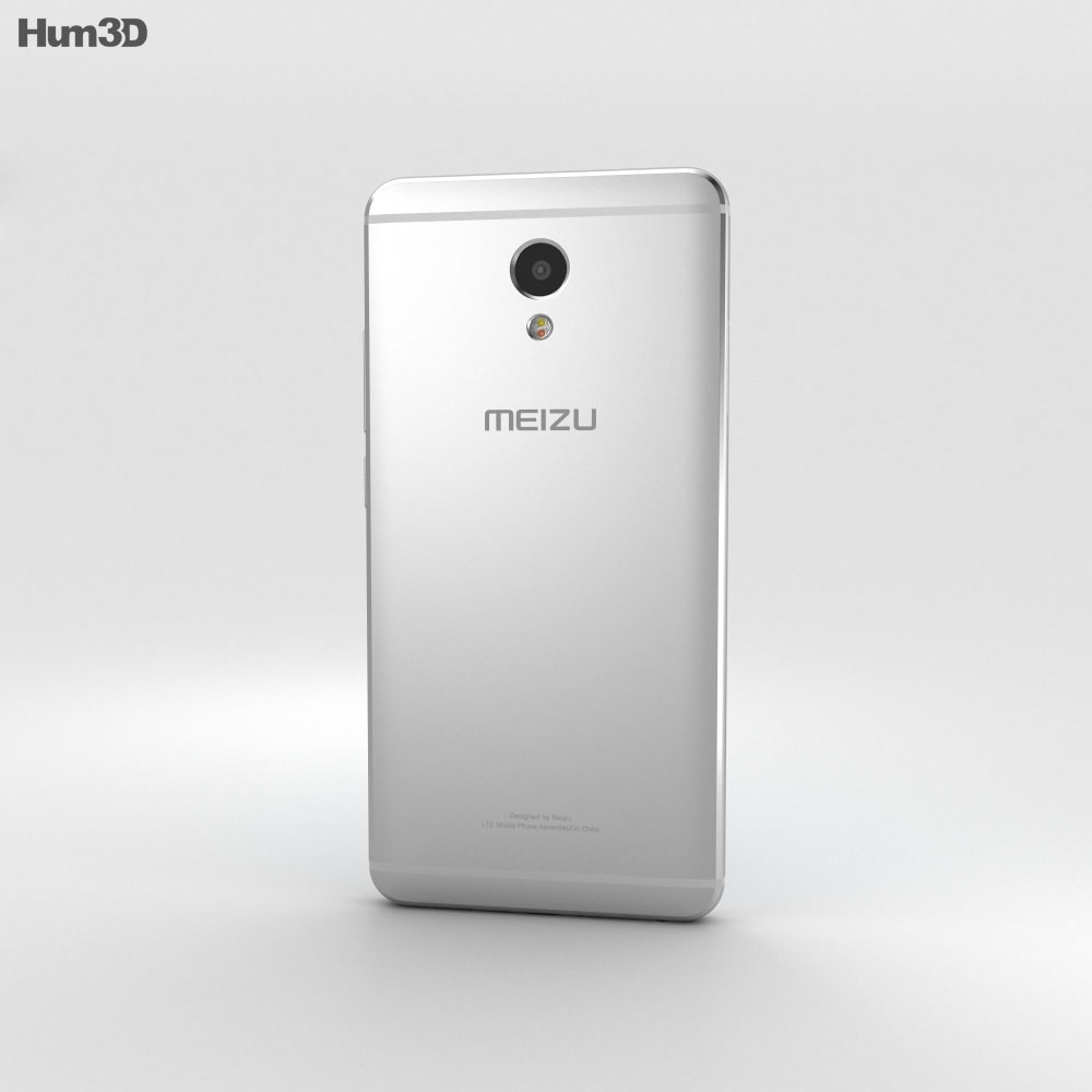 Meizu M5 Note Silver 3d model