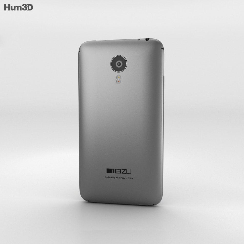Meizu MX4 Gray 3d model