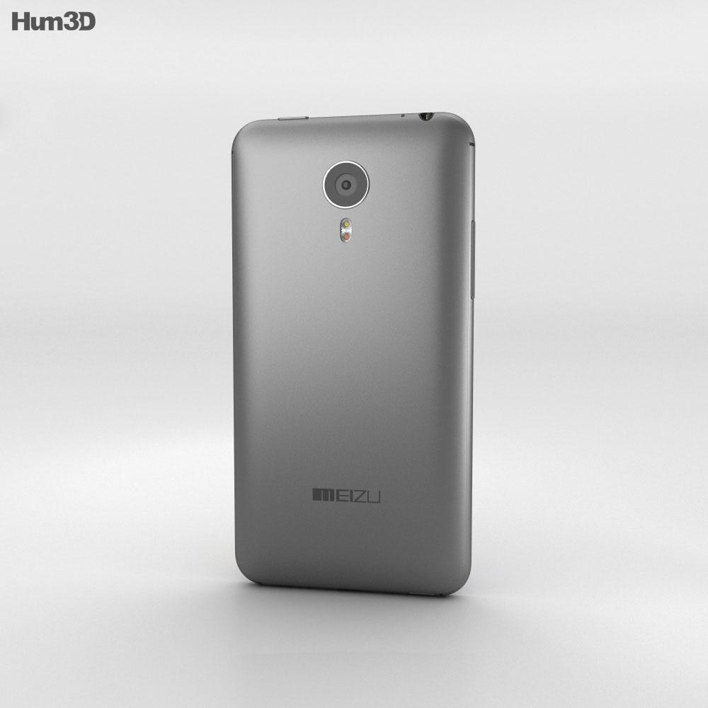 Meizu MX4 Pro Gray 3d model