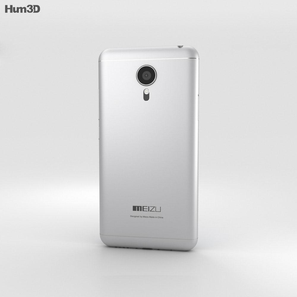Meizu MX5 Black/Silver 3d model