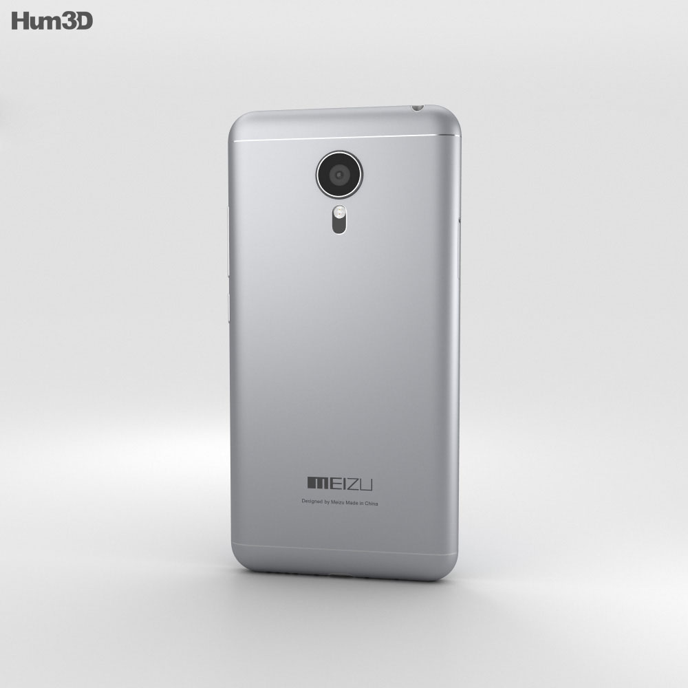 Meizu MX5 Gray 3d model