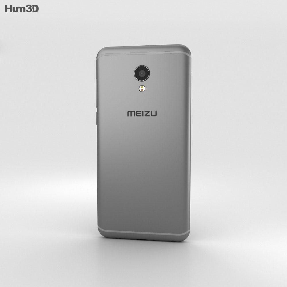 Meizu MX6 Gray 3d model
