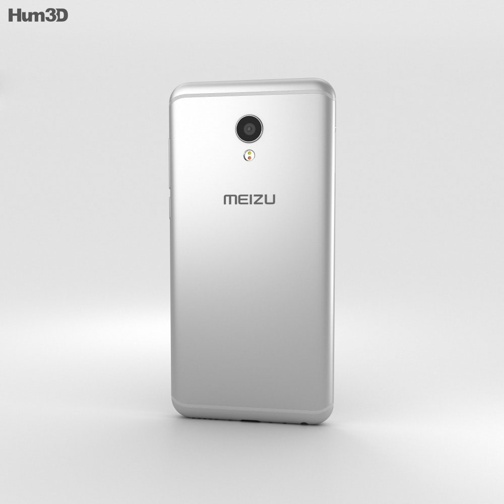 Meizu MX6 Silver 3d model