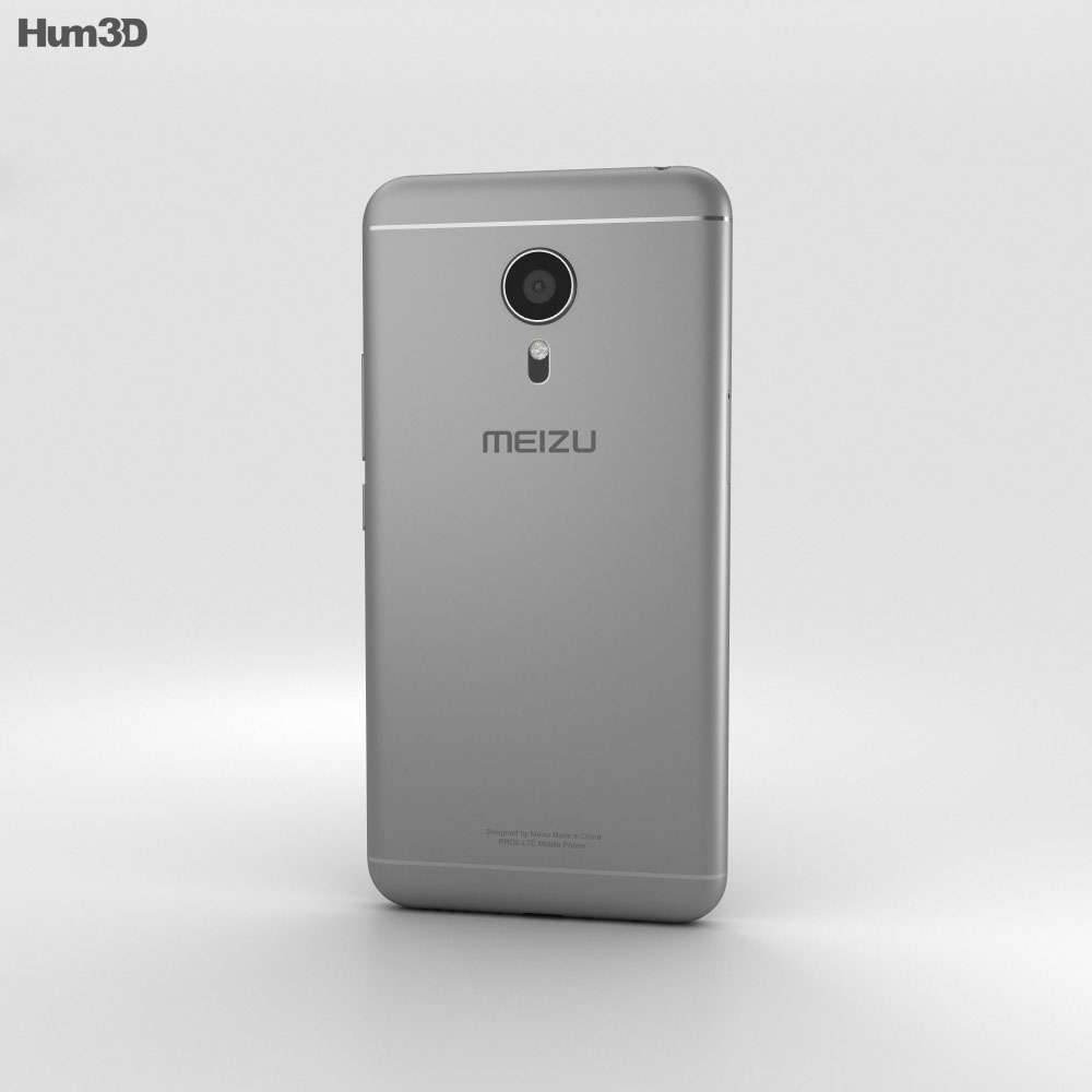 Meizu PRO 5 Gray 3d model