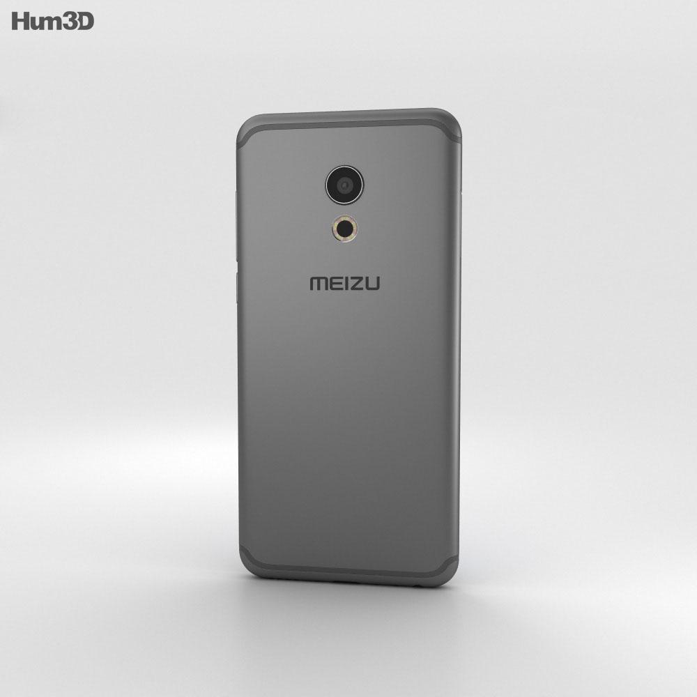 Meizu Pro 6 Gray 3d model
