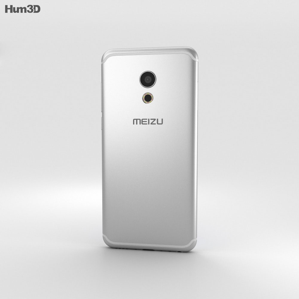 Meizu Pro 6 Silver 3d model