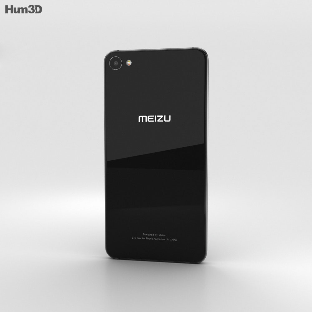 Meizu U20 Black 3d model