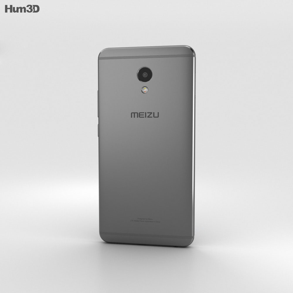 Meizu M3E Gray 3d model