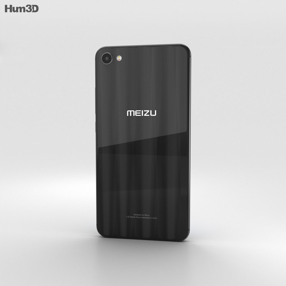Meizu M3x Black 3d model