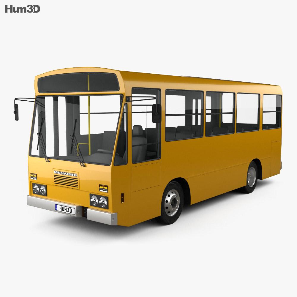 Menarini C13 Bus 1981 3d model