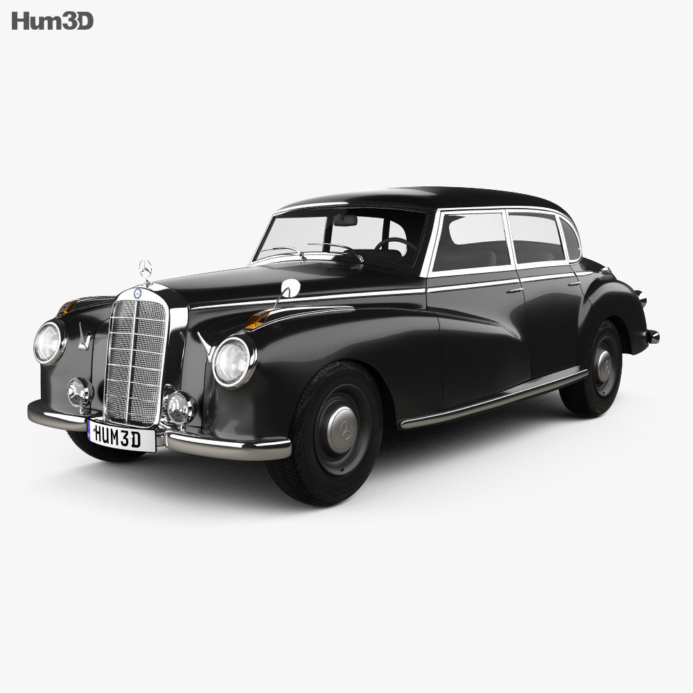Mercedes-Benz 300 (W186) Limousine 1951 3d model