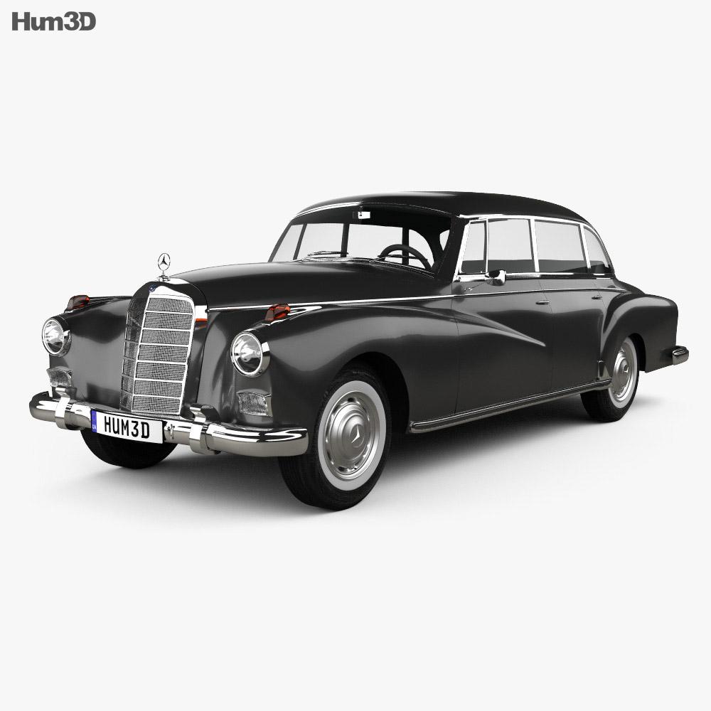 Mercedes benz 300d w189 1957 3d model hum3d for Mercedes benz 300d parts