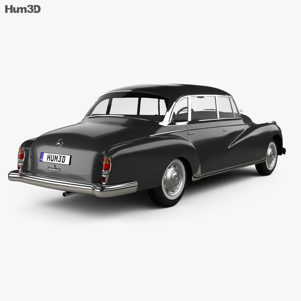 Mercedes-Benz 300d (W189) 1957 3d model