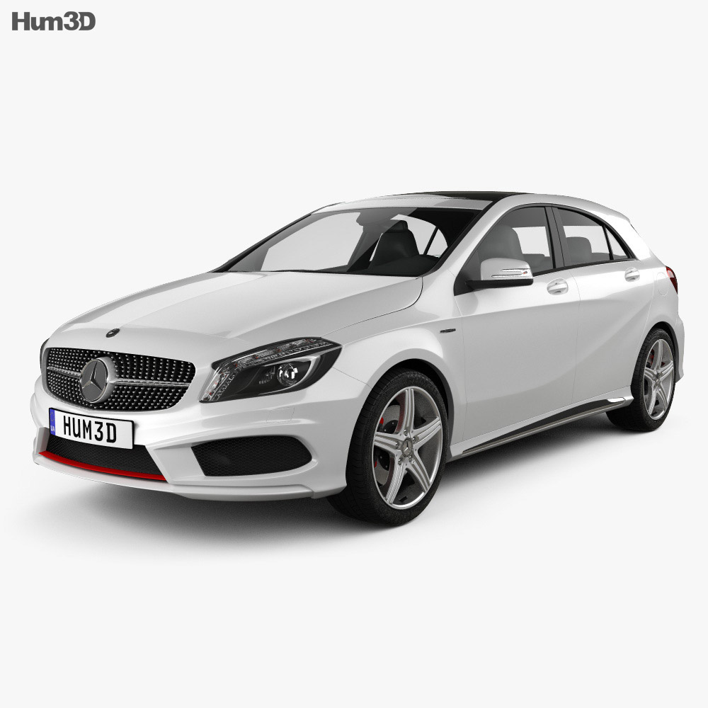 Mercedes-Benz A-class 2013 3d model