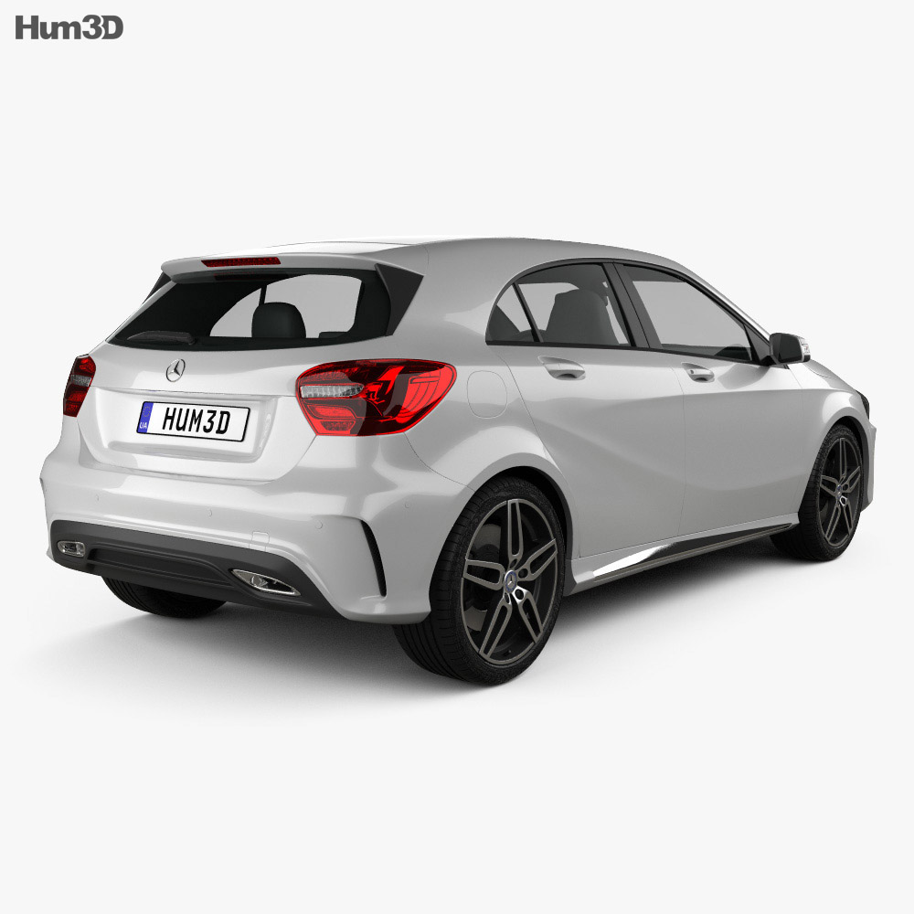 Mercedes-Benz A-Class (W176) AMG 2016 3d model