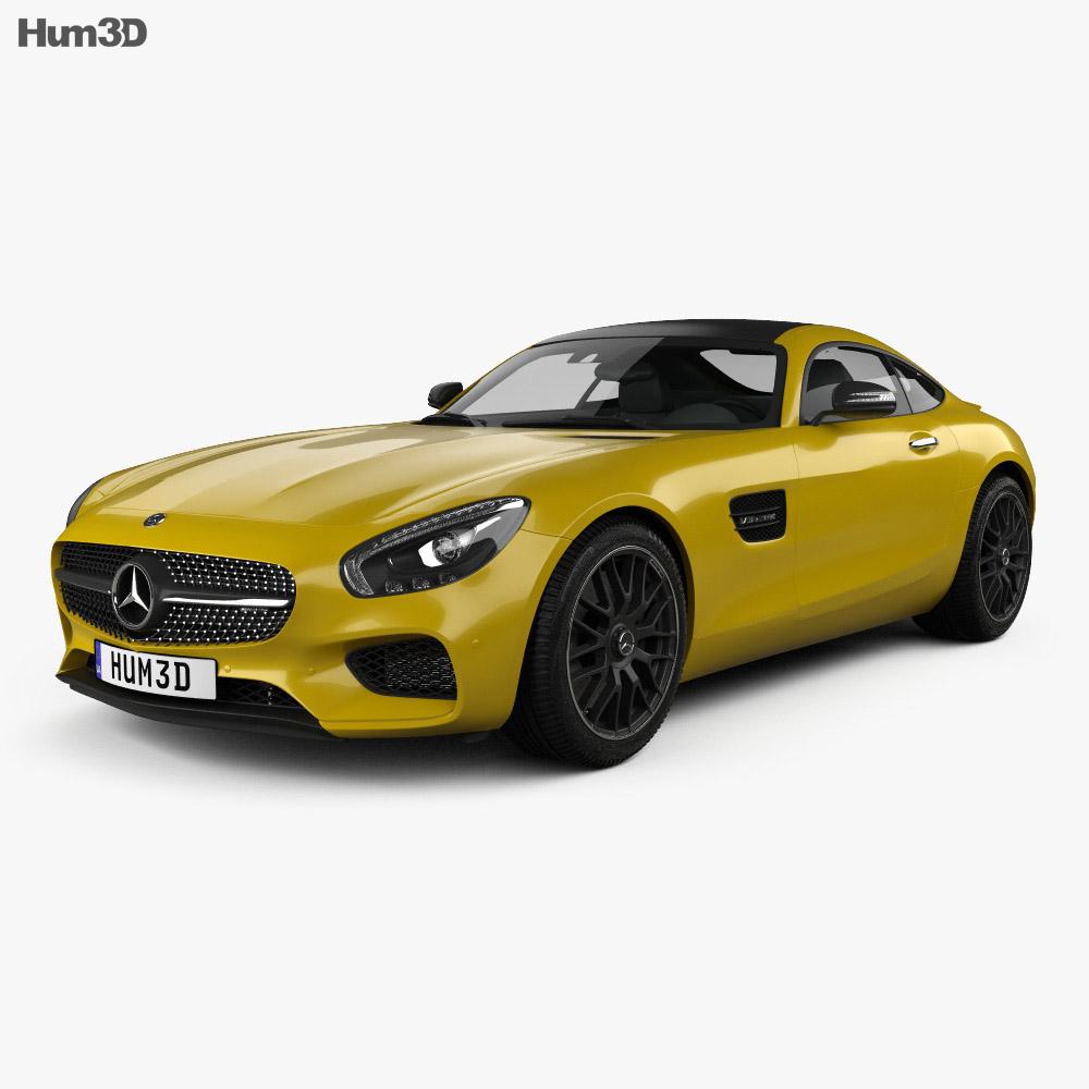 Mercedes-Benz AMG GT 2014 3d model