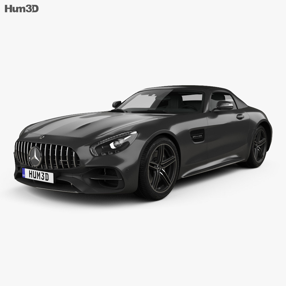 Mercedes benz amg gt c roadster 2017 3d model hum3d for All mercedes benz models