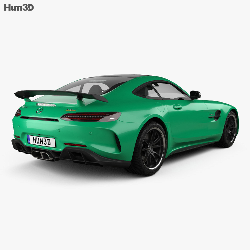 mercedes benz amg gt r 2016 3d model hum3d. Black Bedroom Furniture Sets. Home Design Ideas