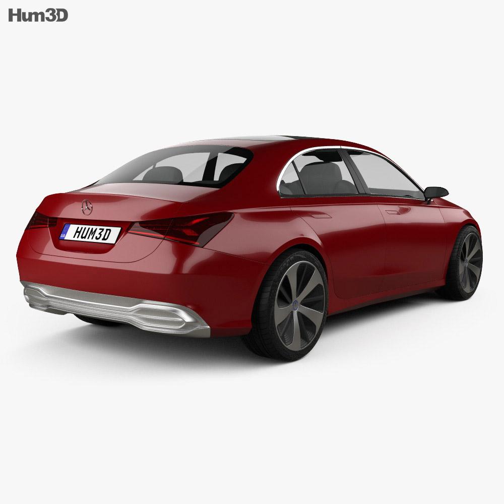 Mercedes-Benz A Sedan 2017 3d model
